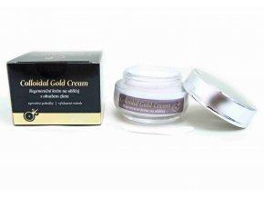 Colloidal Gold Cream Regenerační krém na obličej s obsahem zlata 50 ml