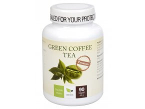 Natural Medicaments Green Coffee Tea 90 kapslí