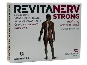 Master Pharm Revitanerv Strong 500 mg 30 tbl.