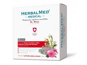 HerbalMed pastilky Dr. Weiss MEDICAL 20 pastilek