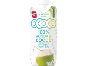 Ococo BIO 100% kokosová voda 330 ml