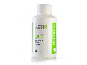 HEALTH & COLOSTRUM Colostrum kapsle IgG 40 (400 mg) 90 ks