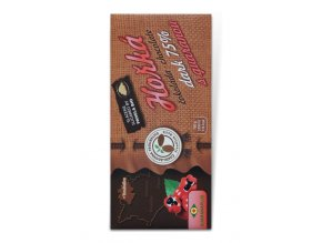 Guaranaplus Čokoláda hořká 75% s guaranou 45 g