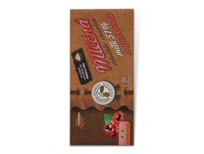 Guaranaplus Čokoláda mléčná 51% s guaranou 45 g