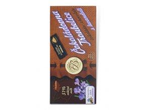 Guaranaplus Čokoláda mléčná 51% s levandulí 45 g