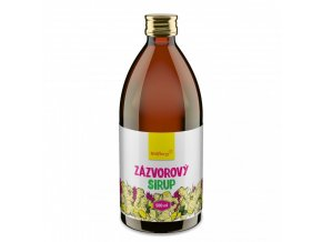 zazvorovy sirup wolfberry 500 ml