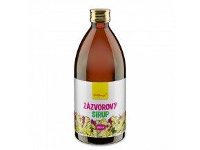 zazvorovy sirup wolfberry 500 ml