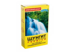 Šungitová drť – přírodní filtr a aktivátor vody 150 g