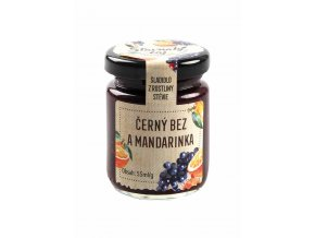 Madami Pečený ovocný čaj Černý bez & Mandarinka