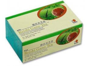 DXN Reishi Gano zelený čaj s Reishi 20 sáčků x 2g
