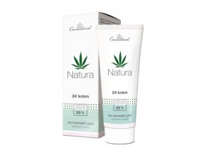 Cannaderm Bio 24 krém pro normální pleť Natura 75 g