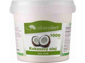 ZdravýDen® Kokosový olej bez vůně 1000 ml