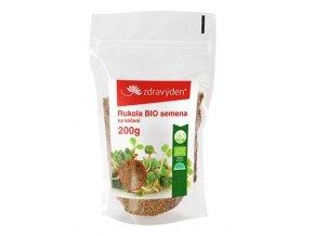 ZdravýDen® BIO Rukola - semena na klíčení 200 g