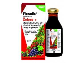 Floradix železo + vitamíny B2, B6, B12 a C 250 ml