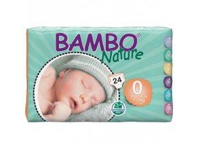 Bambo Nature 0 Premature 1-3kg 24 kusů