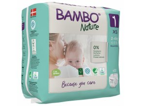 Bambo Nature 1 New born 2-4kg 28 kusů