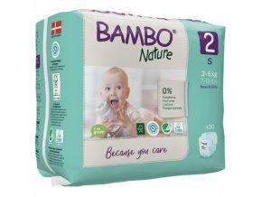 Bambo Nature 2 Mini 3-6kg 30 kusů