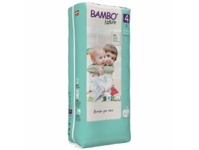 Bambo Nature 4 Maxi 7-18kg 30 kusů