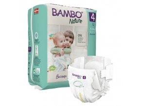 Bambo Nature 4 7-14kg 24 kusů