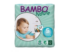 Bambo Nature 5 Junior 12-22kg 27 kusů