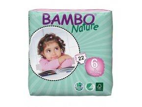 Bambo Nature 6 XL 16-30kg 22 kusů