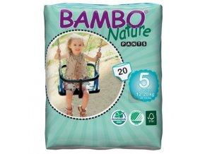 Bambo Nature 5 Pants Junior 12-20kg 20 kusů