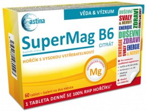 Astina SuperMag B6 citrát 60 tbl.