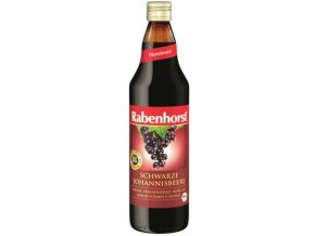 Rabenhorst Šťáva z černého rybízu 750 ml