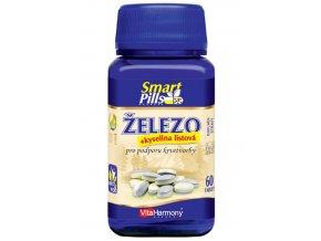VitaHarmony Železo 20 mg s kyselinou listovou 60 tbl.