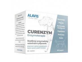 ALAVIS™ CURENZYM Enzymoterapie 80 kapslí