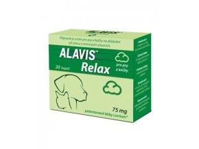 ALAVIS™ Relax pro psy a kočky 75 mg 20 kapslí