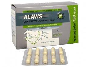 ALAVIS™ CURENZYM Enzymoterapie 150 kapslí