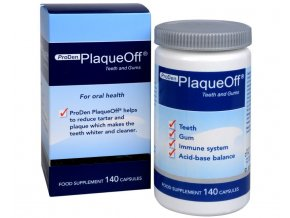 PlaqueOff® Teeth and Gums 140 kapslí