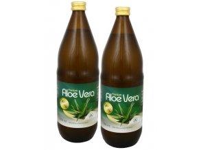 Allnature Aloe vera Premium 1+1 ZDARMA (1000 ml + 1000 ml)