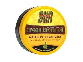 Vivaco Sun Zvláčňující tělové máslo po opalování s arganovým olejem 200 ml
