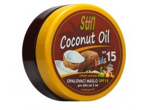 Vivaco Sun Opalovací máslo s kokosovým olejem pro děti SPF 15 200 ml