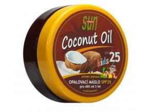 Vivaco Sun Opalovací máslo s kokosovým olejem pro děti SPF 25 200 ml