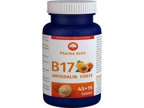 Pharma Activ Amygdalin FORTE vitamín B17 45 tbl. + 15 tbl. ZDARMA