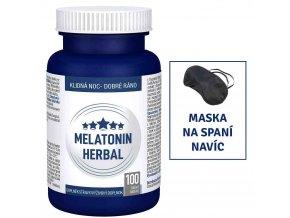 Pharma Activ Melatonin + Mučenka + Meduňka + B6 80 tbl. + 20 tbl. ZDARMA
