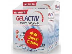 gelactiv proteo enzyme q 120 60 tablet zdarma
