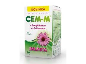SALUTEM Pharma CEM-M s betaglukanem a s echinaceou Imunita 90 tbl.