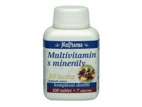 MedPharma Multivitamin s minerály 30 složek 107 tbl.