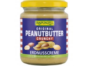 Rapunzel BIO Arašídové máslo křupavé 250 g