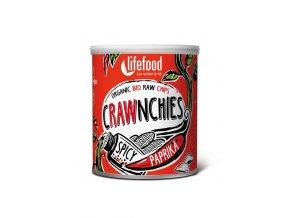 Lifefood BIO Crawnchies pikantní s paprikou 30 g