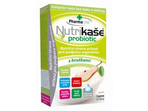 Mogador Nutrikaše probiotic - s hruškami 180 g (3 x 60 g)