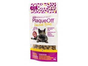 PlaqueOff™ Dental Bites Cat - pro kočky 60 g