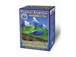 Everest Ayurveda ASHWAGANDHA - čaj při nespavosti, přepracování, stresu 100 g