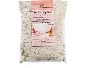 DNM Himalájská sůl růžová jemně mletá česneková 250 g