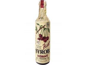 Kitl Syrob Višňový s dužninou pro domácí limonády 500 ml