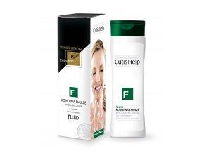 FLUID konopná mycí a sprchová emulze 200 ml